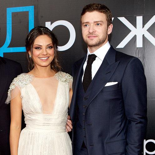 BLACK-TIE 'BENEFIT'  photo | Justin Timberlake, Mila Kunis