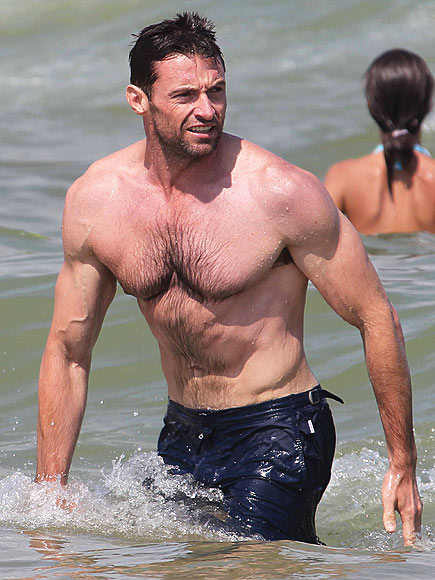 MUSCLE BEACH photo | Hugh Jackman
