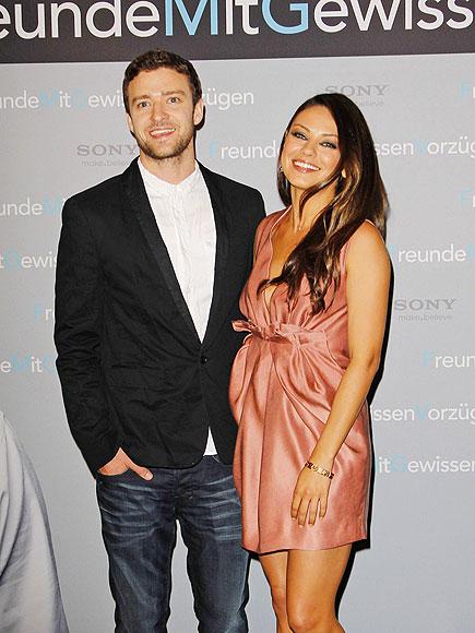 BERLIN BABES photo | Justin Timberlake, Mila Kunis
