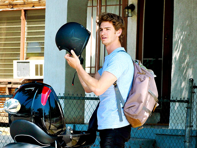 SAFTEY FIRST photo | Andrew Garfield