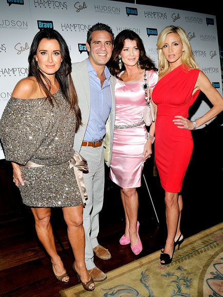 KEEPING IT 'REAL' photo | Andy Cohen, Camille Grammer, Kyle Richards, Lisa Vanderpump