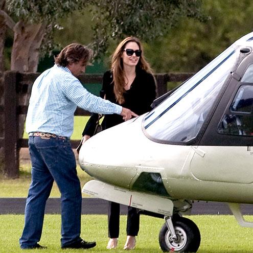 CHOP TO IT  photo | Angelina Jolie