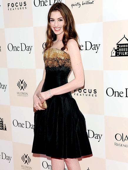 GOLDEN GIRL photo | Anne Hathaway