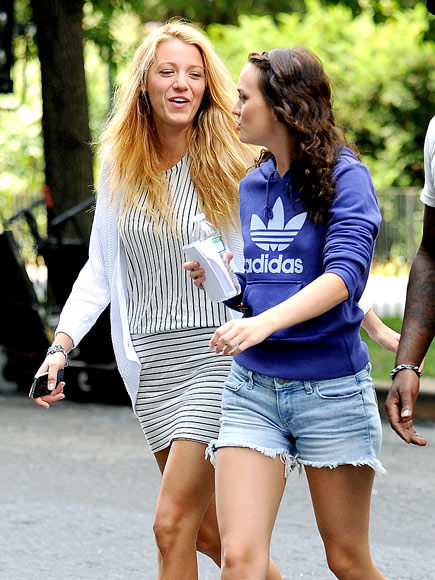 GIRL TALK   photo | Blake Lively, Leighton Meester