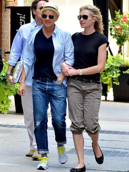 IN LOCK STEP  photo | Ellen DeGeneres