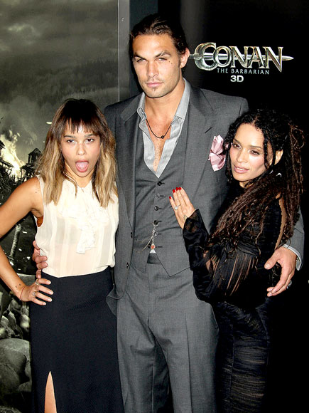MIDDLE MAN photo | Jason Momoa, Lisa Bonet, Zoe Kravitz