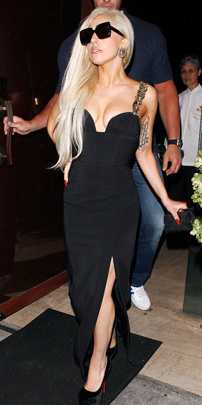 BLACK TO BASICS photo | Lady Gaga