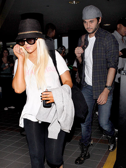 DEPARTURE DATE photo | Christina Aguilera