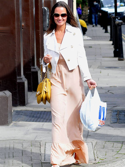 PEACH PERFECT photo | Pippa Middleton