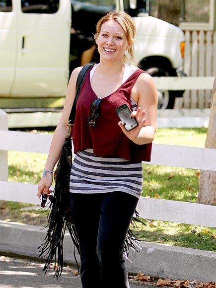BELLY BOOST photo | Hilary Duff