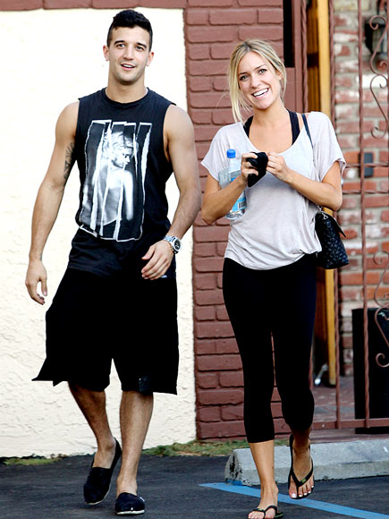 DANCE CLASS photo | Kristin Cavallari, Mark Ballas