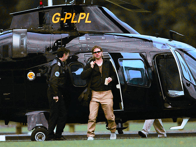 CHOPPER STOP photo | Brad Pitt