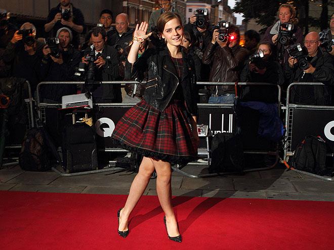 PLAID OUT  photo | Emma Watson
