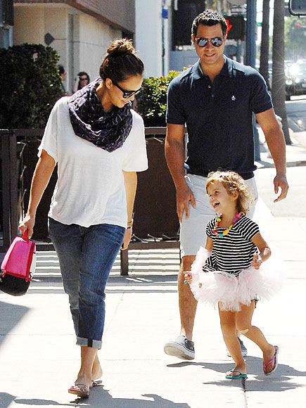 TUTU CUTE! photo | Cash Warren, Honor Warren, Jessica Alba