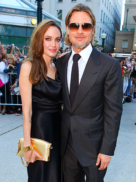 Angelina Jolie & Brad Pitt photo | Angelina Jolie, Brad Pitt
