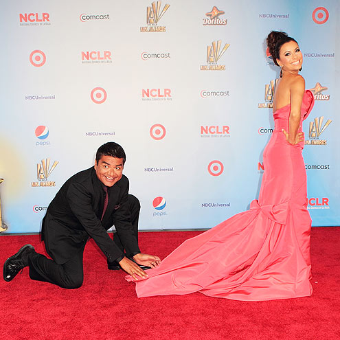 CATCH THE TRAIN! photo | Eva Longoria, George Lopez