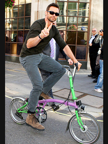 PEACE-FUL RIDE photo | Hugh Jackman