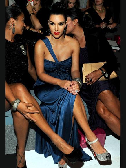 FRONT-ROW FABULOUS  photo | Kim Kardashian