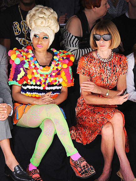 POP ART  photo | Anna Wintour, Nicki Minaj