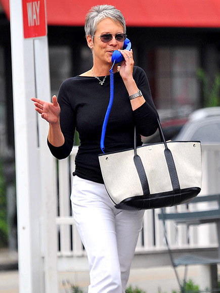PHONING IT IN photo | Jamie Lee Curtis