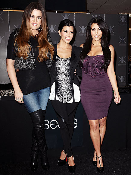 GLAM TRIO photo | Khloe Kardashian, Kim Kardashian, Kourtney Kardashian