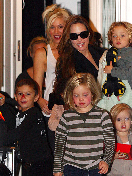VISITING HOURS photo | Angelina Jolie, Gwen Stefani