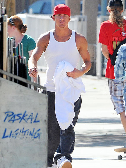ARM-Y OF ONE photo | Channing Tatum