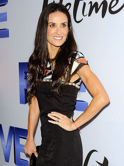 TAKING 'FIVE' photo | Demi Moore