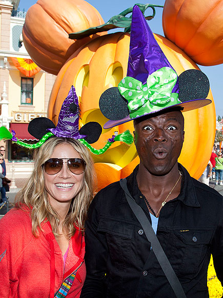 SPOOKY SPIRIT photo | Heidi Klum, Seal