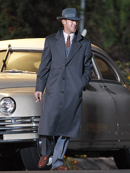 KEEPING IT 'GANGSTER'  photo | Ryan Gosling