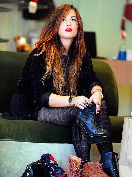 SHOE-IN photo | Demi Lovato