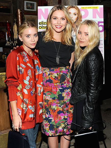 THREE'S COMPANY photo | Ashley Olsen, Elizabeth Olsen