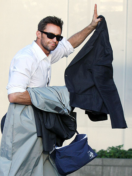 LAUNDRY DAY photo | Hugh Jackman