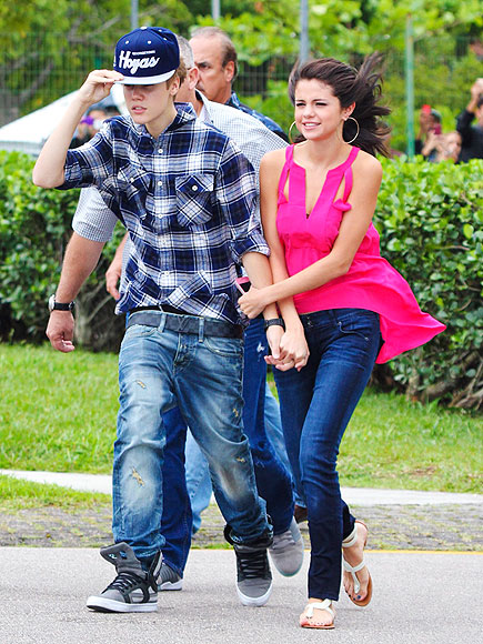 BLOWN AWAY photo | Justin Bieber, Selena Gomez