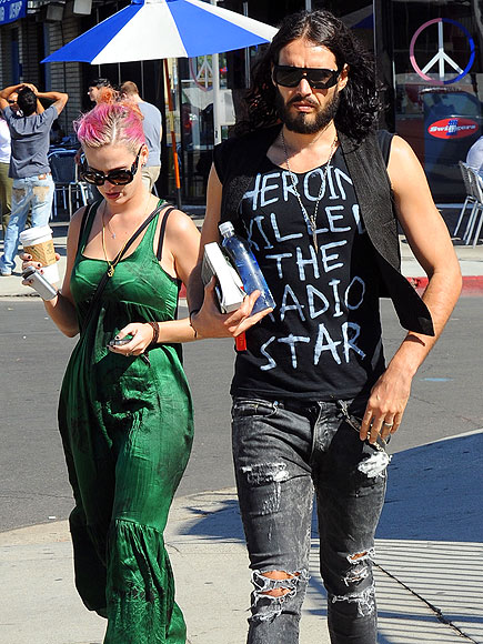 'PURR'FECT PAIR photo | Katy Perry, Russell Brand