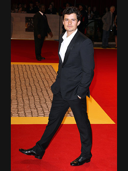 WALK THIS WAY photo | Orlando Bloom