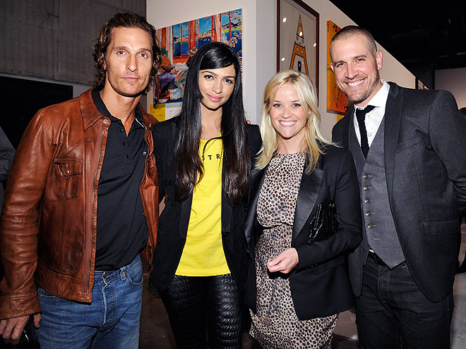 POWER COUPLES photo | Matthew McConaughey, Reese Witherspoon
