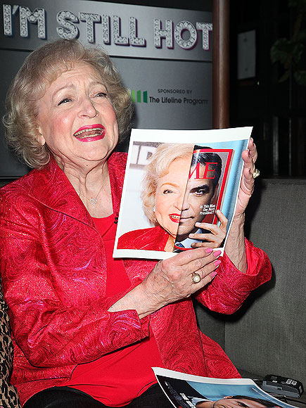 FACE OFF photo | Betty White
