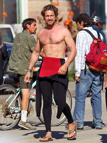 CHEST ASSURED photo | Gerard Butler