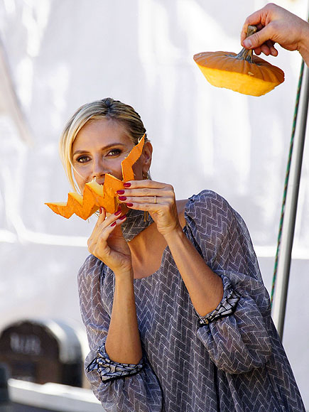 FUNNY FACE photo | Heidi Klum