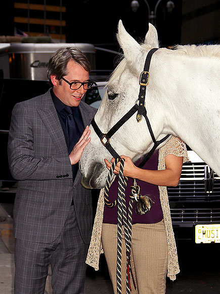 HORSING AROUND photo | Matthew Broderick