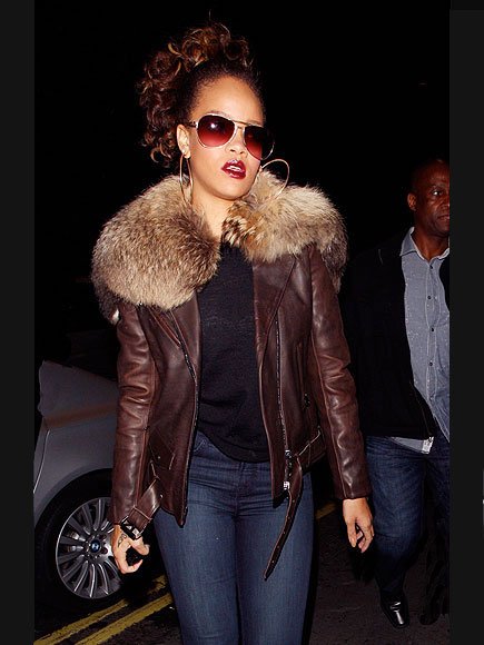 SHE'S SO FUR REAL photo | Rihanna