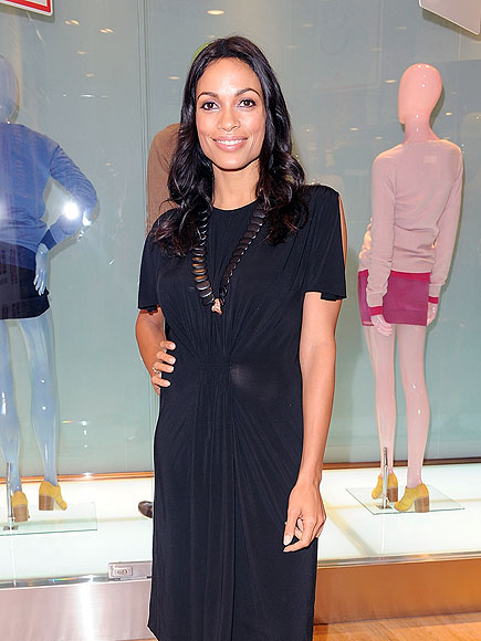 SHOP 'TIL YOU DROP photo | Rosario Dawson