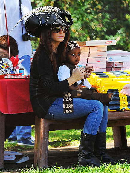 AHOY, MATEY photo | Sandra Bullock