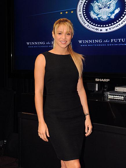 STANDING FIRM  photo | Shakira
