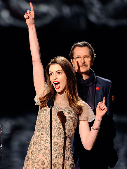Scream It Out photo | Anne Hathaway