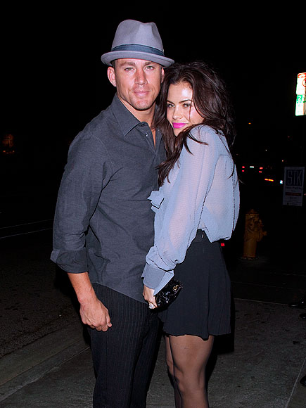 AFTER-DINNER TREAT photo | Channing Tatum, Jenna Dewan