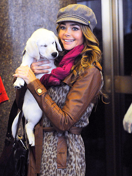 CUDDLING COSTARS photo | Denise Richards