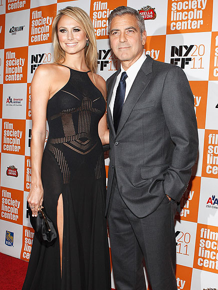 GLOW ON photo | George Clooney, Stacy Keibler