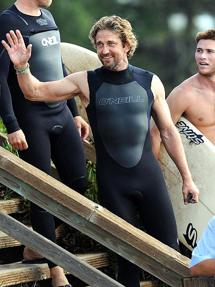 'HI' TIDE photo | Gerard Butler